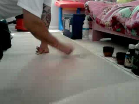 how to remove sunflower oil stain on carpet