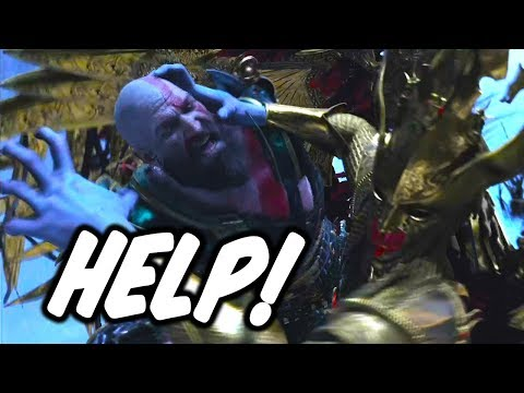 Fighting Sigrun for 3 hours (No Spartan Rage and Resurrection stones) - GOD OF WAR BOSS FIGHT