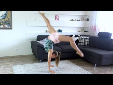 HOW TO DO FRONT WALKOVER // Tutorial FOR BEGINNERS AT HOME 🤸♀️ Tips & tricks to stand up