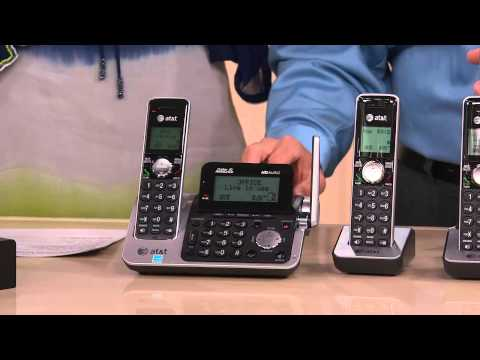 AT&T Cordless Phone System with 4 Handsets & Answering Machine with Nancy Hornback