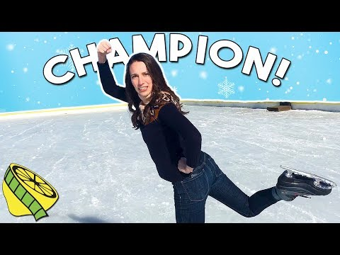 Ice Skating Olympics Champion - Bryce Canyon 2018