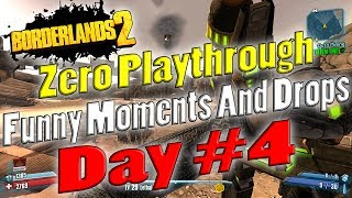 Borderlands 2 | Zero Playthrough Funny Moments And Drops
