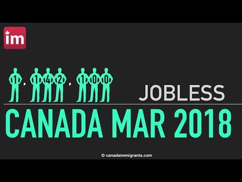 Unemployment in Canada (March 2018)   Canadian Labour Market