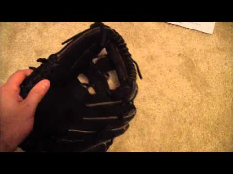 Nike Pro Traditional 1150 Baseball Glove   Before and After Glove Relace