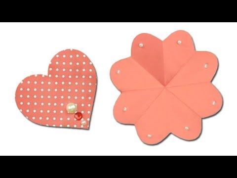 Heart Flower Card Tutorial