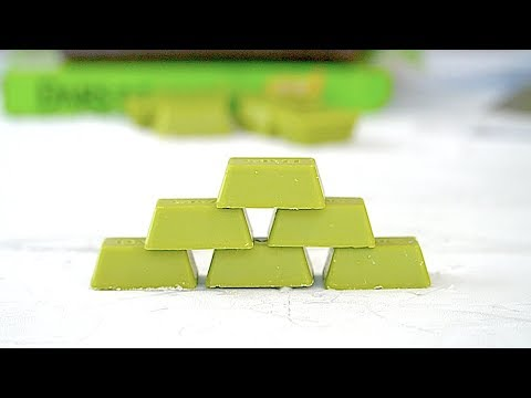 How to Make DARS Green Tea Ice Cream Rolls