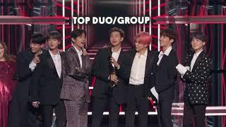 BTS Wins Top Duo / Group - BBMAs 2019