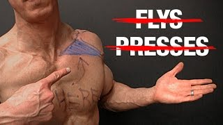 How To Build Your Upper Chest No Flys No Presses