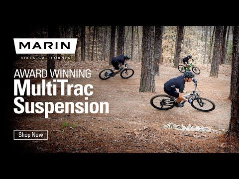 The Marin MultiTrac Trail Bikes:  Something for Everyone!
