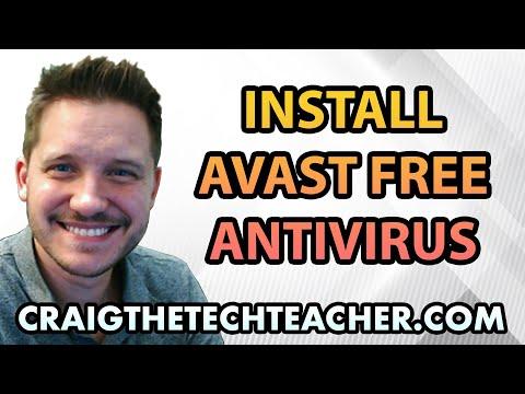 How To Install Avast! Free Antivirus on Windows 7 - Ep. 3