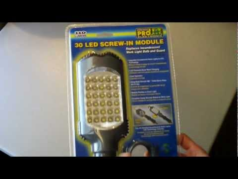 PROLITE Electronix 30 LED Screw-In Module Product Overview