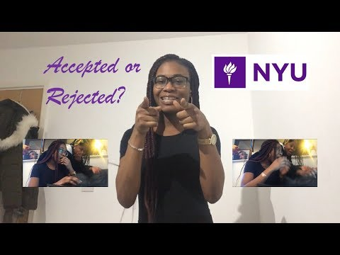 My NYU Early Decision 2 Reaction