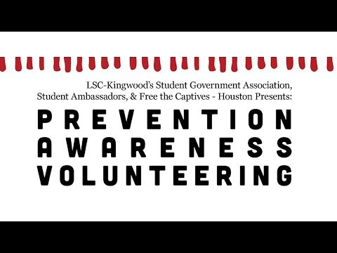 Human Trafficking: Prevention, Awareness, Volunteering featuring Free The Captives Houston