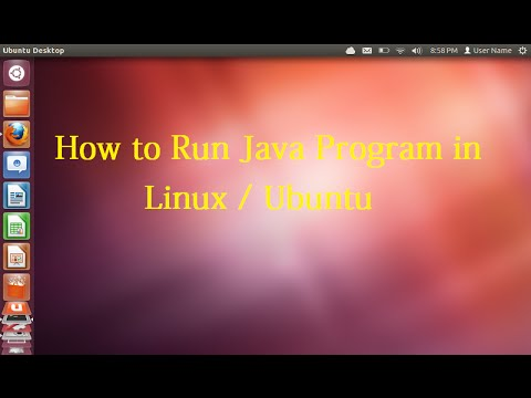 How to Run Helloworld Java in Linux / Ubuntu