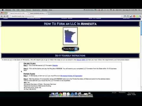 How to Form an LLC in Minnesota
