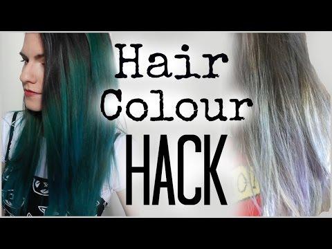 Hair HACK: Maintaining Hair Colour (Teal and Silver/Grey hair)