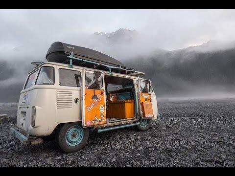 Full Tour ~ VW Bus Motorhome Driven From Brazil To Alaska ~ Kombi Life