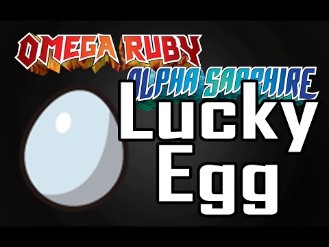 【How to get LUCKY EGG】 Pokemon Omega Ruby Alpha Sapphire
