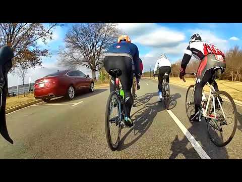 Cycling Group Ride Workout - Paceline