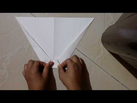 How to make a paper airplane dart(John Collins)