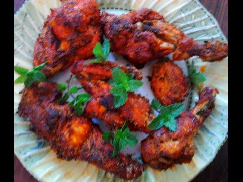 Crispy Chicken  Legs /Drumsticks  In Microwave oven