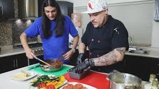 Cocinando con el Muerto Ep8.- Cuervo Films - Lasaña vegetariana.