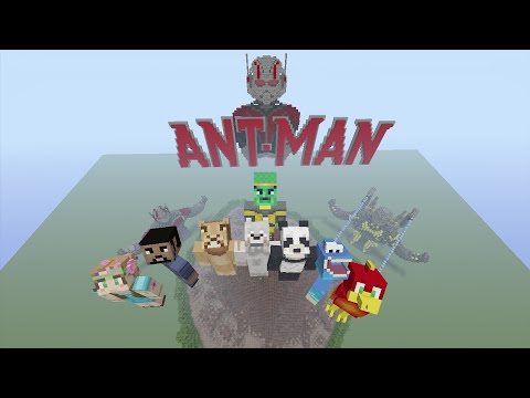 Minecraft - Hide and Seek - Ant-man the movie