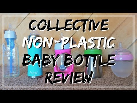 Collective Non-Plastic Baby Bottle Review // Momma Alia