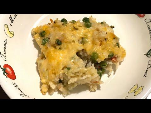 Italian Rice Casserole Recipe