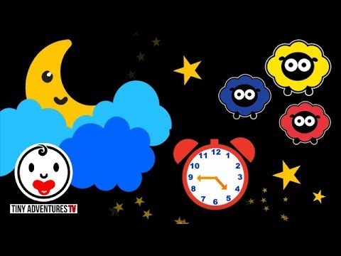 Baby Sensory - Sleepy Time - Twinkle Twinkle Little Star (Visual Stimulation) Put baby to sleep