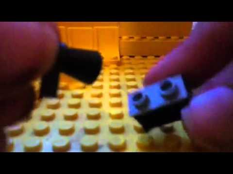 How to make a lego double barrel shotgun