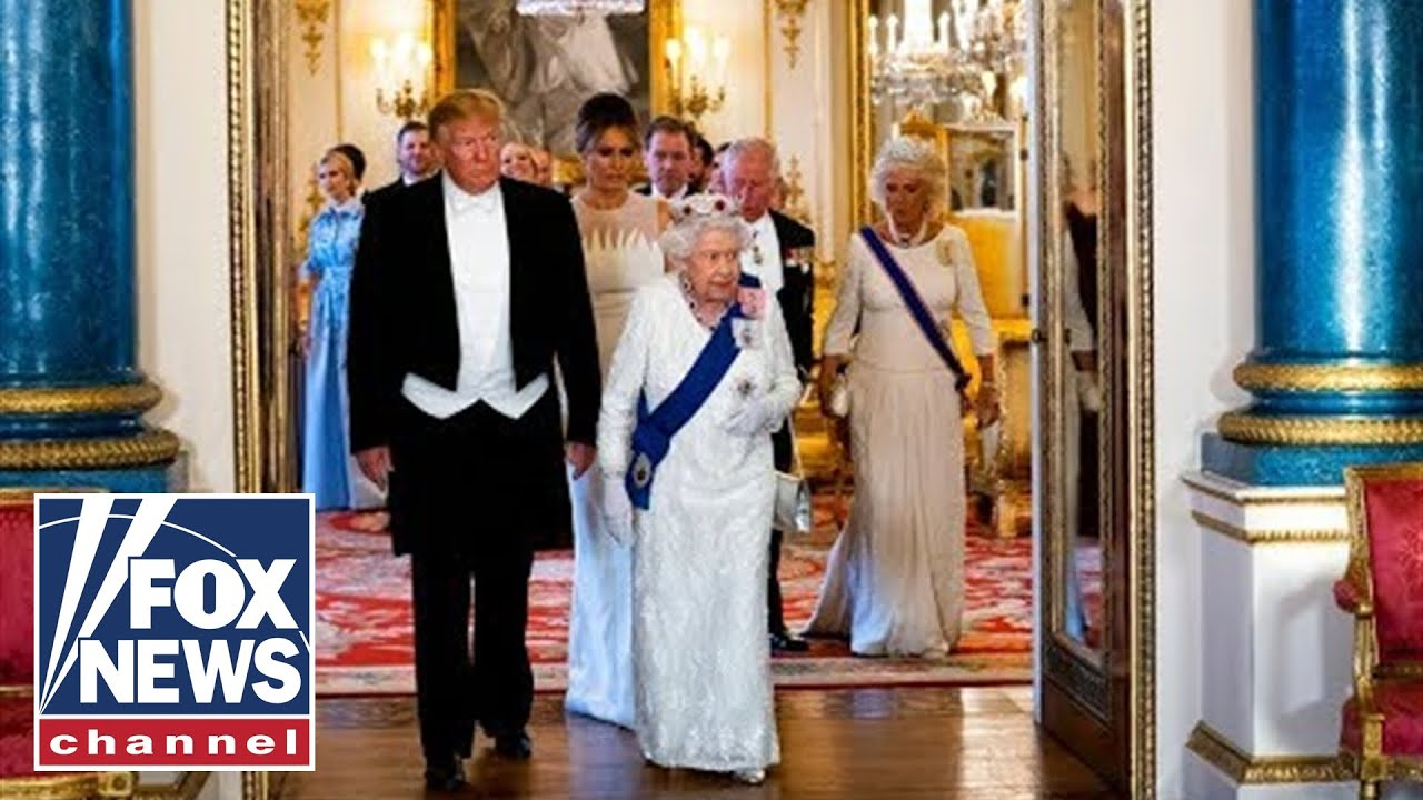 Full Video: Trump, Queen Elizabeth II exchange toasts at UK state dinner