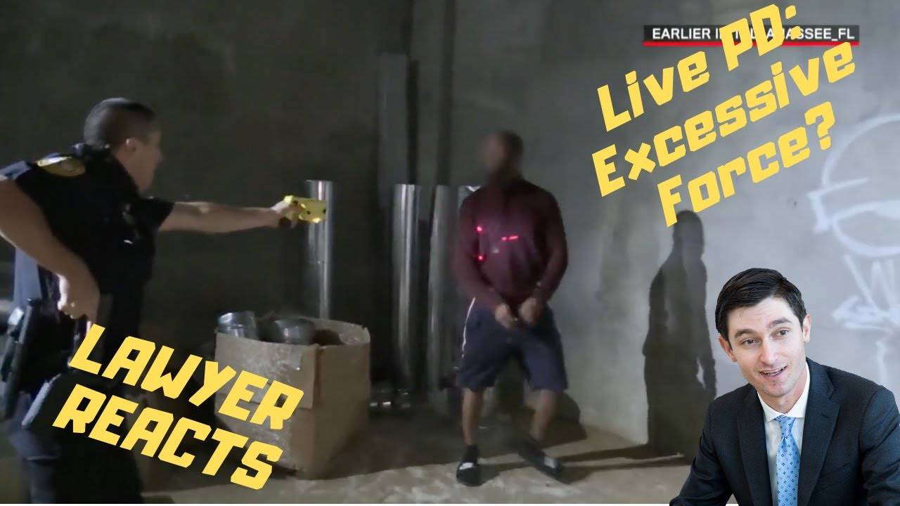 """Lawyer reacts to """"Live PD: I Got Him (Season 4)   A&E""""   Breakdown of excessive force, SITLA, etc..."""