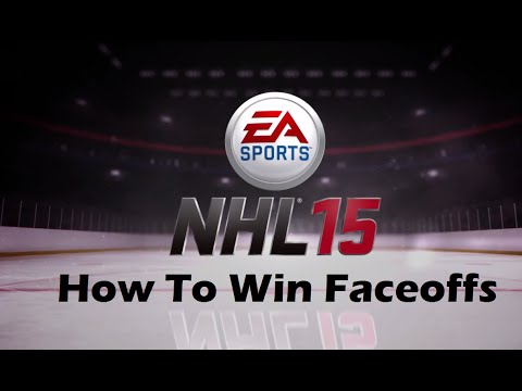 NHL 15 Tutorial How to Win Faceoffs