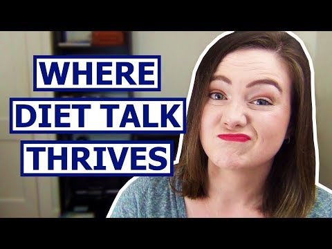 One of the WORST Places for Diet Talk