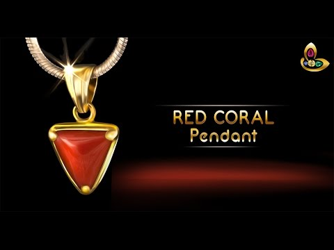 Triangular Italian Red Coral for Astrology Benefits