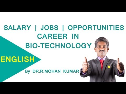 CAREERS IN B.Sc BIOTECHNOLOGY – M.sc,PHD,Institutions,Job Openings,Salary Package