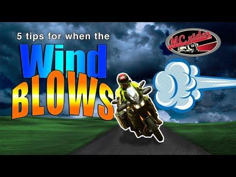 5 techniques to conquer the wind - MCrider