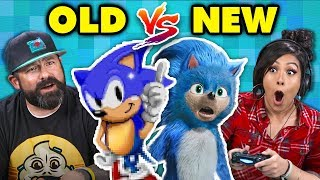 Download What Happened To Sonic The Hedgehog? Old vs. New (React: Gaming) Video