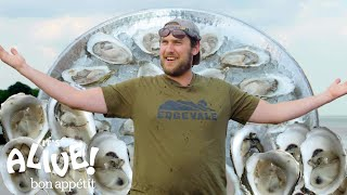 Brad Explores an Oyster Farm | It
