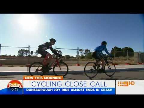Cycling Close Call | 9 News Perth