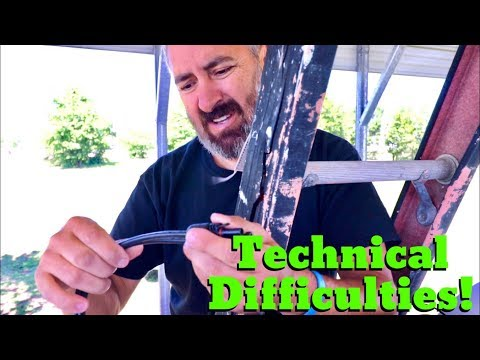 Van Life; Technical Difficulties! The Lance Camper Solar Project! Part 3