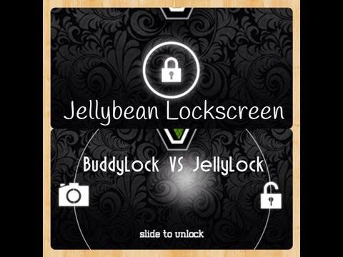 [Cydia Tweak] BuddyLock VS JellyLock - Android Jellybean Lockscreen on iOS