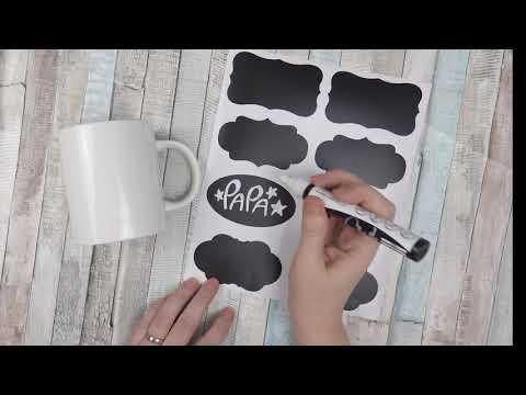 UNIBALL Chalk Marker Mug Design