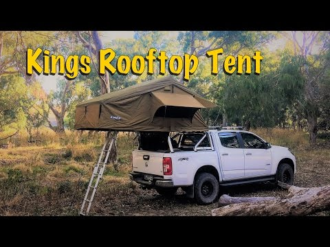 Kings Roof Top Tent Setup