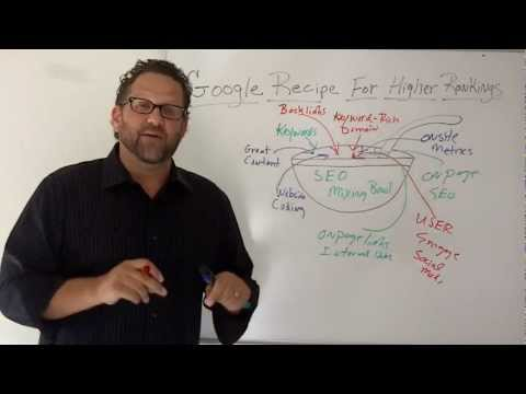 Google Webiste Ranking Recipe-The X's And O's Of SEO-Episode 14