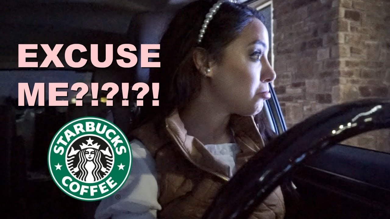 one of my hater's was working the Starbucks drive thru...and this is what happened