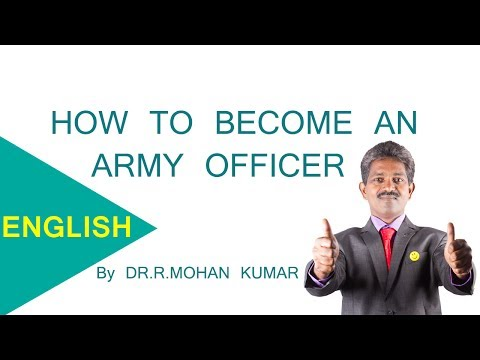 How To Become An Army Officer After 12th