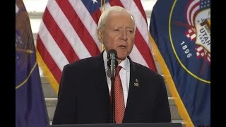 YOU will NOT believe what Senator Orrin Hatch just said about President Donald Trump