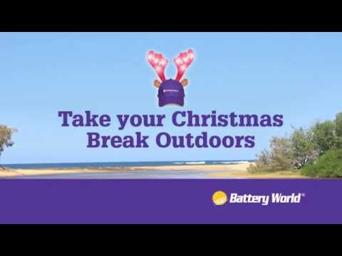Take Your Christmas Break Outdoors with Battery World